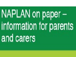 Naplan on paper- information for parents